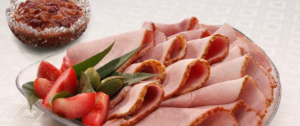 Sweet Slice® Ham with Cranberry Chutney
