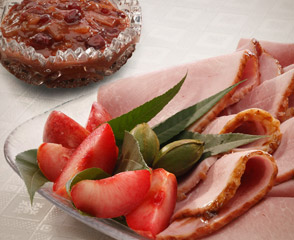 Sweet Slice® Ham with Cranberry Chutney