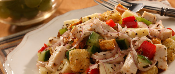 EverRoast® Chicken-and-Bread Salad