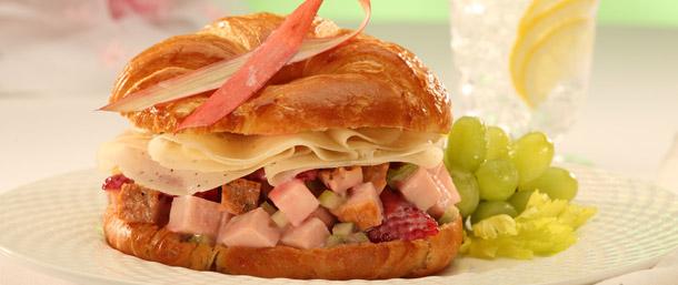 The Pink Ribbon EverRoast® Chicken Salad Croissant