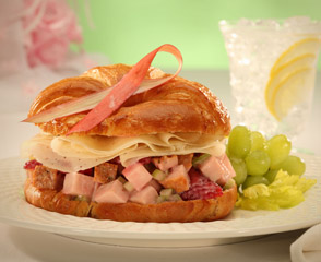 The Pink Ribbon EverRoast® Chicken Salad Croissant