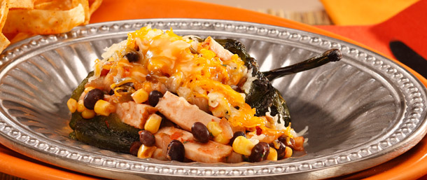 EverRoast® Chicken Stuffed Poblano Peppers