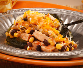 EverRoast® Chicken Stuffed Poblano Peppers