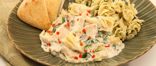 EverRoast® Creamy Chicken-and-Artichoke Casserole
