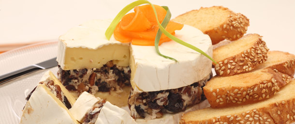 Camembert Holiday Torte