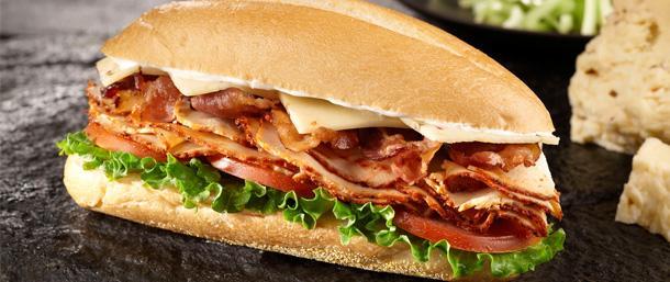 Blazing Buffalo® Chicken Club Sandwich