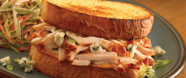 Buffalo Blue Cheese Chicken Sandwich