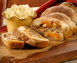 Cheddar Cheese Apple Loaf