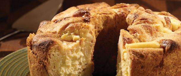 Hungarian Sweet Cheese Bread