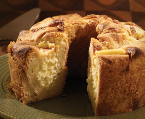 Hungarian Sweet Cheese Bread