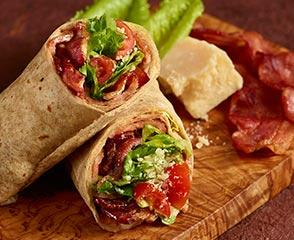 Caesar BLT Wrap with Bold Chipotle Chicken