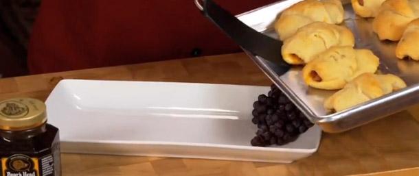 Sweet Slice® Ham & Cheddar Crescent Rolls