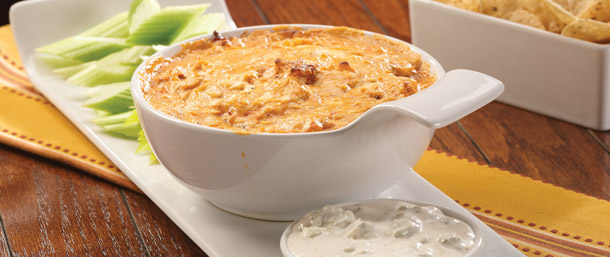 Blazing Buffalo® Chicken Dip