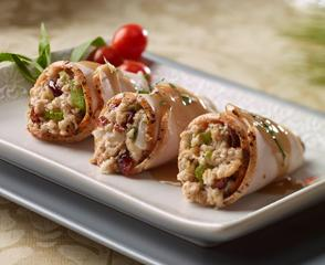 Holiday Roasted Turkey Roll Ups