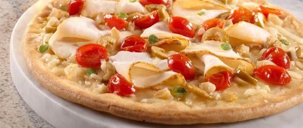 Gluten Free EverRoast® Chicken Provolone Pizza