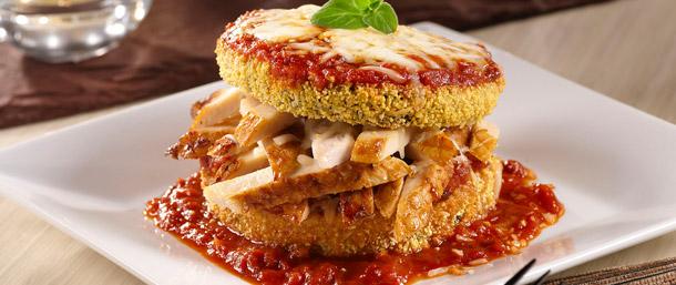 Gluten Free EverRoast® Baked Eggplant Parmesan