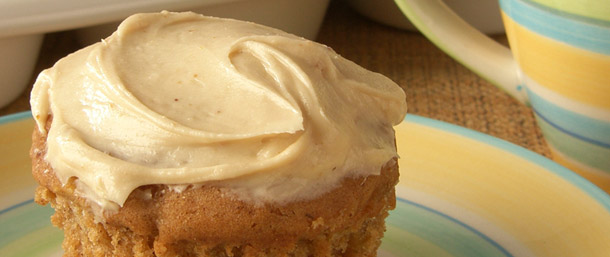 Gluten Free Apple Spice Cupcakes Frosting