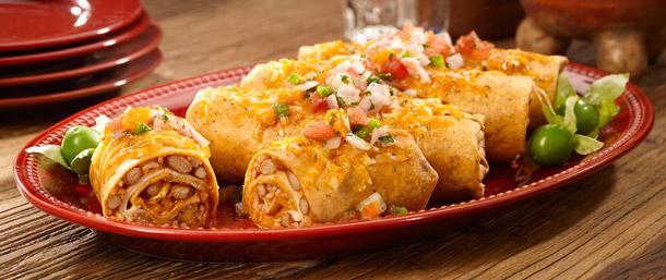 Chipotle Chicken Rice Burritos