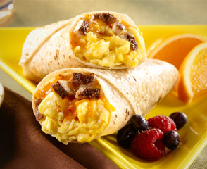 Gluten Free Spicy Breakfast Wrap