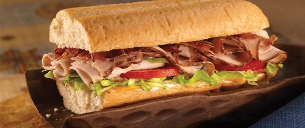 Jerk Turkey® Ranch Sandwich