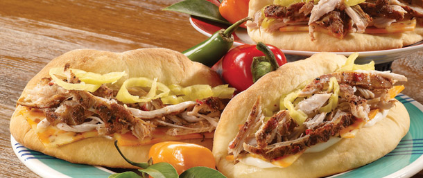 Jerk Turkey® Coco Bread Sandwich