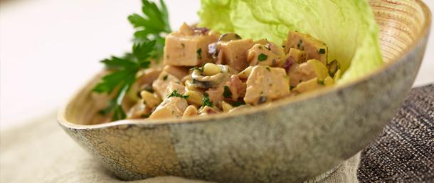 Chipotle Hummus Turkey Salad