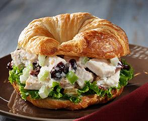 Cransational Chicken Salad Croissant