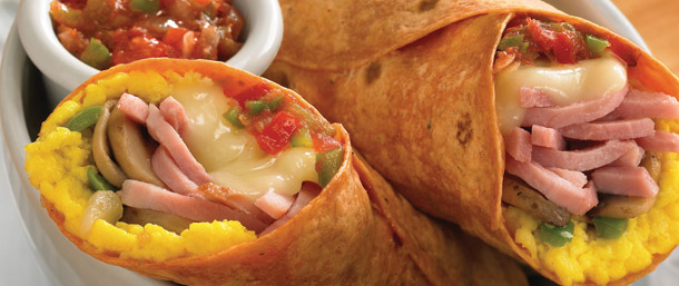 Sweet Slice® Salsa Egg Wrap