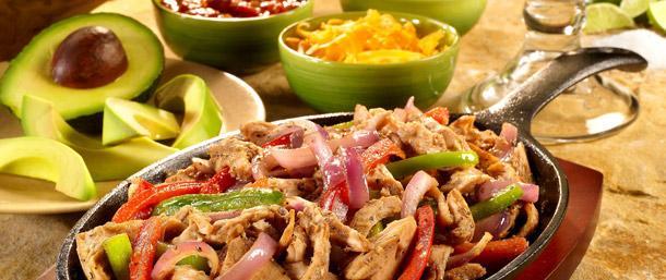Spiced Ovengold® Turkey Fajitas