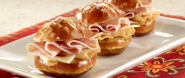 EverRoast® & Ham Pretzel Sliders