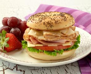 EverRoast® Chicken Cordon Bleu Bagel