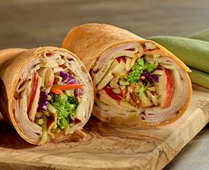 Maple Honey Turkey Wrap