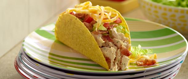 Blazing Buffalo® Chicken Tacos