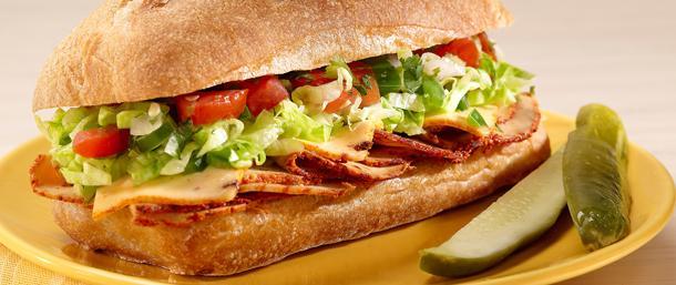 Chipotle Chicken Salsa Sandwich