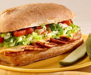 Chipotle Chicken Salsa Sandwich