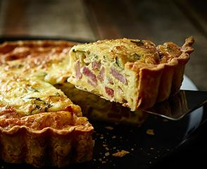 SmokeMaster™ Black Forest Ham & Cheese Quiche