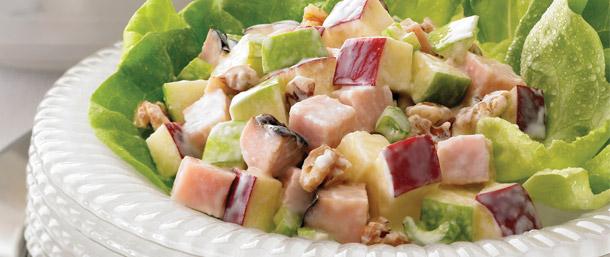Maple Honey Turkey Waldorf Salad