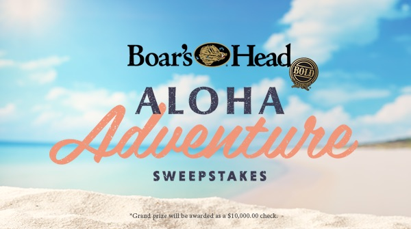 Boar's Head   Aloha Adventure Sweepstakes   Enter Now